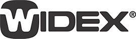 Widex לוגו